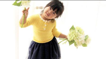 【七巧手工DIY】第58集 编织视频教程  简约宝宝棒针毛衣 上集