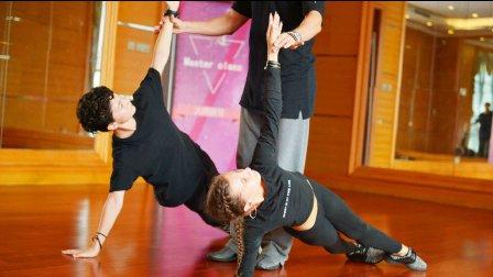 俄罗斯星光俱乐部教学!拉丁舞5支舞+热身