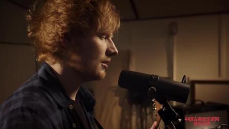 音乐无界: 英国创作型男歌手艾德希兰 新歌录制, 太好听!