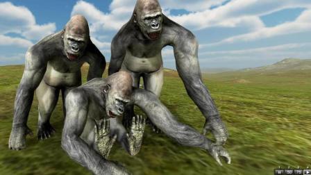 【夜雨】猩球大战 | 野兽战争模拟器
