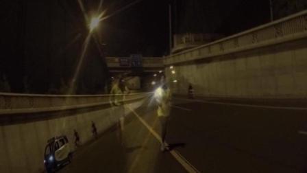 夜跑北京二环