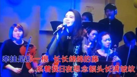 一首《牵挂》温情万种   演唱   青年歌唱家梦苇