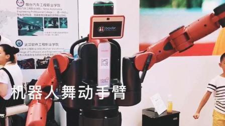 2017世界机器人大会 机器人舞动手臂