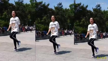 网红女神 丹丹 鬼步广场舞曲《女人没有错》