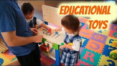 MelodyBlur-不能没有的几件益智玩具推荐(两岁姐妹的大件玩具)