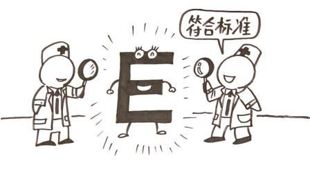 视力表上的字母, 为啥要用E?