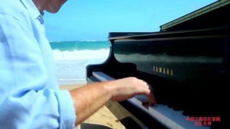古典音乐: 酷音乐团海边演奏《在彩虹简单的礼物》, 这次是清新自然风!