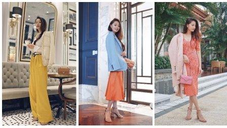 文杏时尚日记 第六十二期 夏末初秋的马卡龙西装你准备好了吗