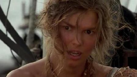 一部让人热血沸腾的电影, 妹子浮岛求生杀海盗, 看完意犹未尽!