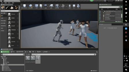 Daz3d Studio 角色动画导入虚幻4游戏引擎 ue4 01 Daz3d自身骨骼
