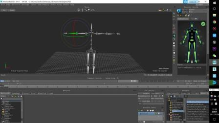 Daz3d Studio 角色动画导入虚幻4游戏引擎 ue4 03 3dsmax 常用bip动作库 montionbuiler