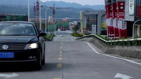 """重庆""""大波浪""""公路红了, 出趟门, 全靠浪!"""