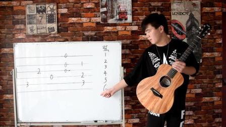 沫少吉他基础教学第六课(初识六线谱)