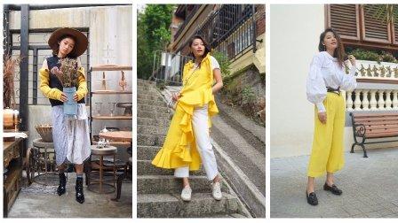 文杏时尚日记 第六十四期 用黄色单品点亮你的浪漫秋天