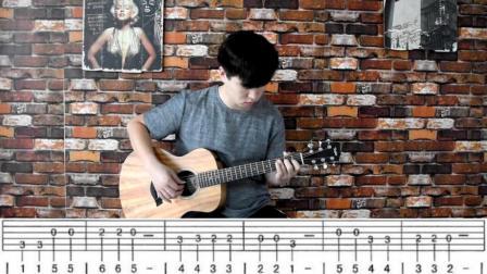 沫少吉他基础教学第七课(小星星)