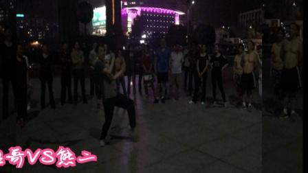 超牛逼广场鬼步舞尬舞 尖叫不断 百人围观