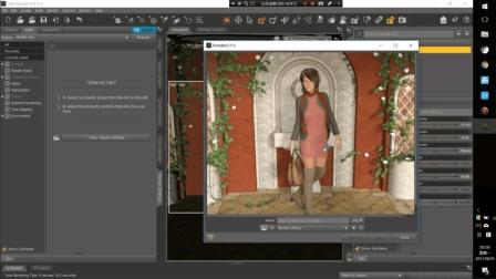 Daz3d Studio 4.9 基础入门 中文视频教程 02 基础入门操作