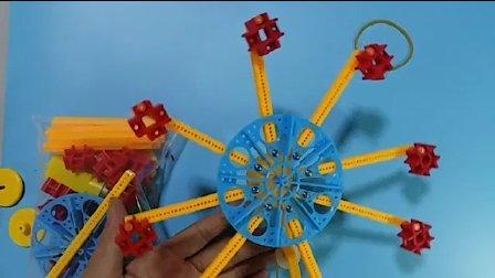 DIY摩天轮,制作视频步骤