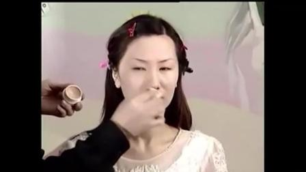 复古新娘妆新娘摄影妆的化妆方法1pony化妆视频