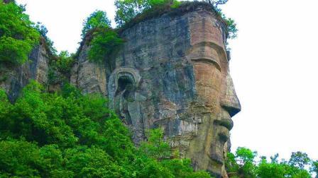 大地飞客: 贵州深山中藏一大佛, 头部竟比乐山大佛高出4米!