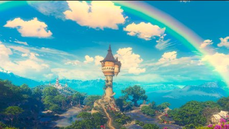 【2160p 4k画质无水印】巫师3每一帧都可以做壁纸的游戏美景