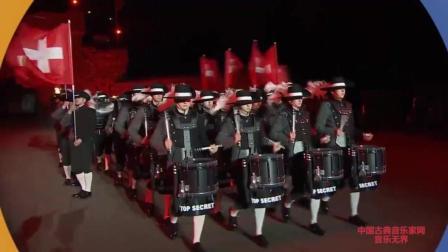 音乐无界: 瑞士最高机密鼓乐队震撼人心的大型演奏, 不看绝对后悔!