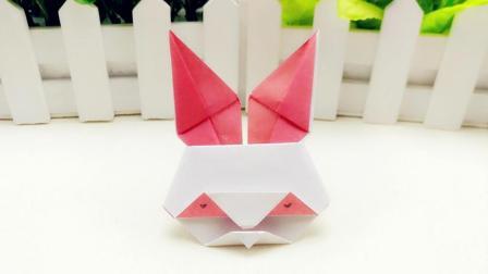 小朋友喜欢的小兔子儿童折纸 好玩有趣