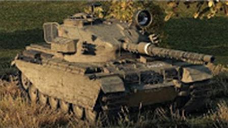 坦克世界大神10级中坦百夫长AX   7杀9500暴力伤害游戏视频