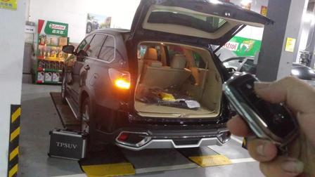 智能豪华 丰田汉兰达电动尾门 轻松驾驭后备箱 TPSUV分享4008858040