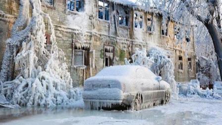 世界最寒冷村庄 活鱼秒变石头水却不会结冰