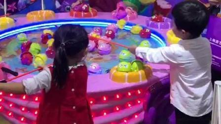 家长不要让孩子玩会上瘾-磁悬浮儿童钓鱼机