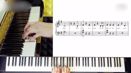 钢琴入门动物展览会钢琴指法练习视频
