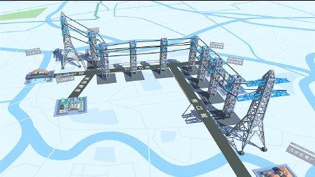 超体科技 | AR技术三山供电缆隧道展示