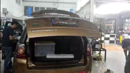路虎神行者2改装电动尾门 轻松驾驭后备箱 TPSUV分享4008858040