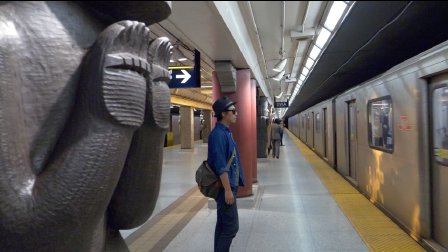 跟随电影的镜头寻找多伦多的艺术