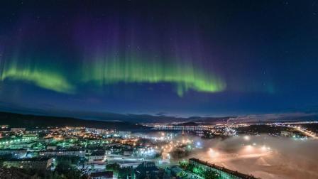 到北极圈去看极光, 首选摩尔曼斯克