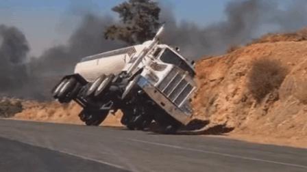 最牛逼的油罐车司机! 能躲得过火箭筒!
