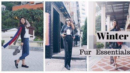文杏时尚日记 第七十一期 冬季搭配点睛之笔 Fur单品来帮你