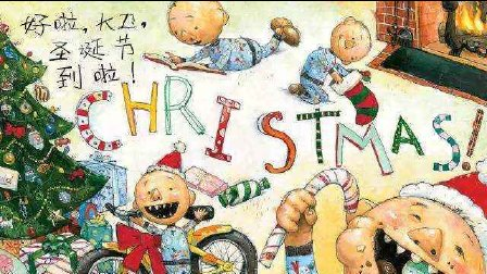辛夷兔绘本故事《大卫圣诞节到了》