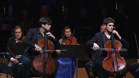 音乐无界: 提琴双杰现场激情演奏巴赫D小调协奏曲第二乐章! 超级精彩!
