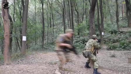 为参加全球真人CS比赛, 中国某军迷战队训练, 外媒表示很专业
