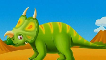恐龙公园 侏罗纪时代 第18期 恐龙骨骼化石挖掘 三角龙再现 陌上千雨游戏