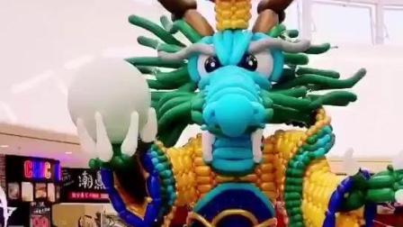 东海龙王气球美陈