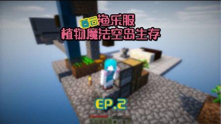 暮云【渔乐服植物魔法空岛生存】EP.2 基础白雏菊