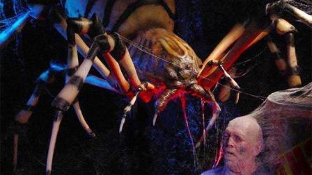 三分钟看完美国科幻灾难片《八脚怪》蜘蛛变异泛滥成灾