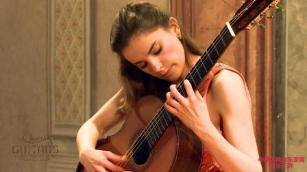 音乐无界: 古典吉他女神安娜维多薇克演奏, 超火视频!