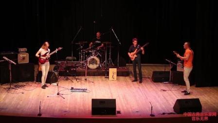 音乐无界: 美国学生舞台演绎: 《卡农摇滚》, 超激情的演奏!
