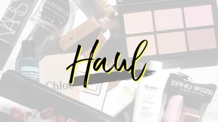 购物分享 HAUL · 护肤彩妆 | misslinzou