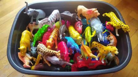 动物世界, 认识大象, 老虎, 狮子, 豹子