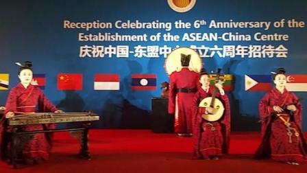 中国·东盟中心成立6周年招待会之中国传统乐器演奏